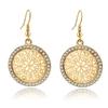 LongWay-boucles-d-oreilles-Vintage-pour-femmes-grandes-fleurs-rondes-couleur-argent-bijoux-de-mariage-en