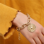 Bracelets-classiques-crabe-en-or-pour-femmes-breloques-cha-ne-la-mode-cadeau-pour-dames-collection