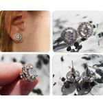 Boucles-d-oreilles-rondes-UMODE-0-75-Ct-AAA-Zircon-boucles-d-oreilles-pour-femmes-filles