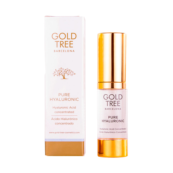 Sérum visage à l\'huile hyaluronique Pure Hyaluronic Gold Tree Barcelona