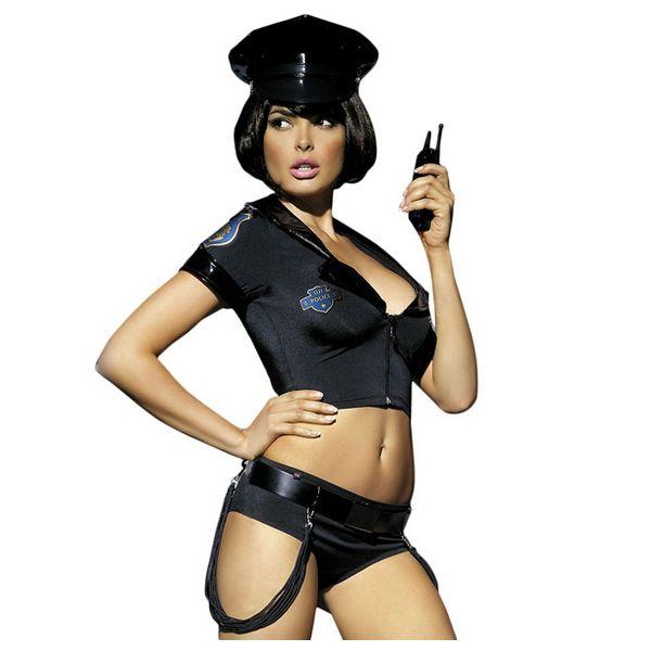 Costume  Ensemble de police S/M Obsessive E24010