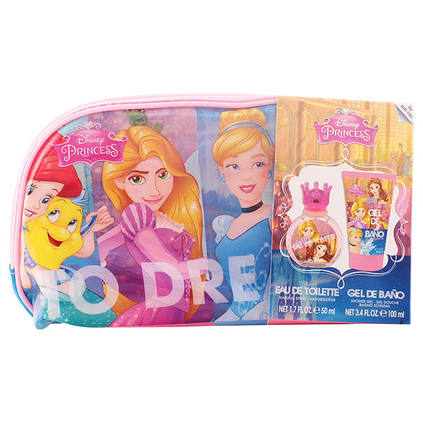 Set de Parfum Enfant Princesas Disney Cartoon (3 pcs)