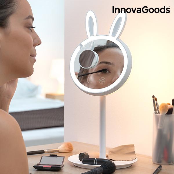 Miroir-Lampe LED pour se Maquiller 2 en 1 Mirrobbit InnovaGoods