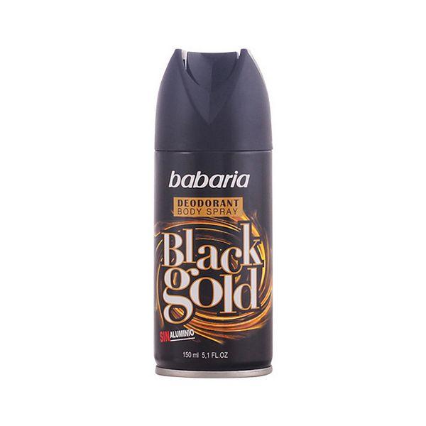 Spray déodorant Men Black Gold Babaria (150 ml)
