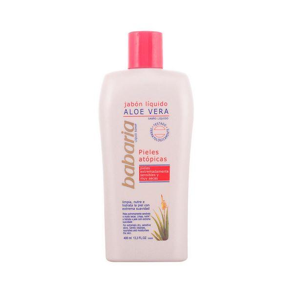Savon liquide pour le corps à l\'aloe vera Babaria (400 ml)