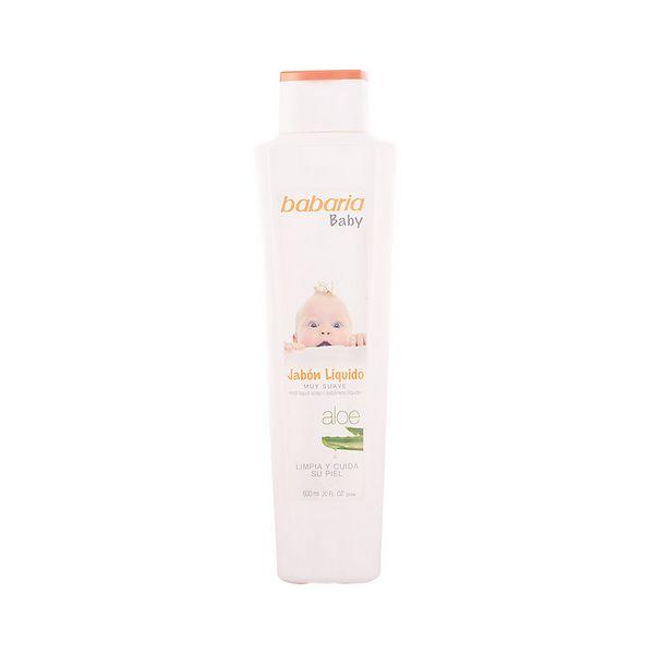 Savon liquide à l\'aloe vera Baby Babaria (600 ml)
