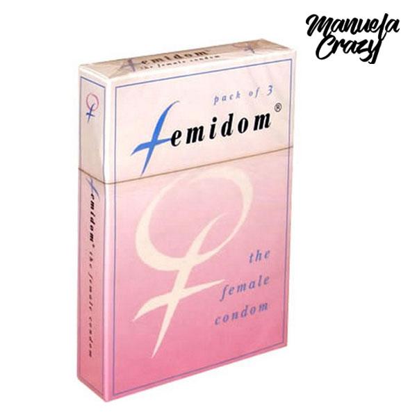 Femidom  Préservatif Femmes 3 pcs Manuela Crazy E20743