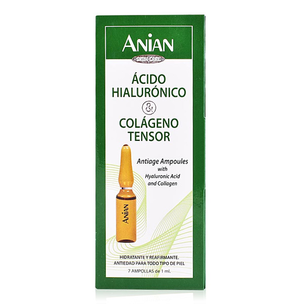 Ampoules effet lifting Hyaluronic Acid Anian (7 uds)