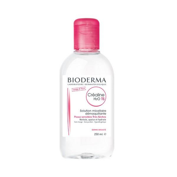 Eau micellaire Crealine H2o Bioderma