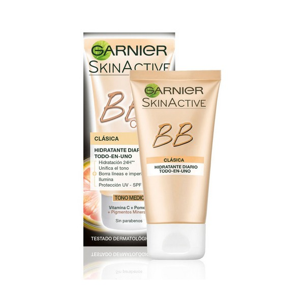 Crème hydratante effet maquillant Skin Naturals Garnier Medium