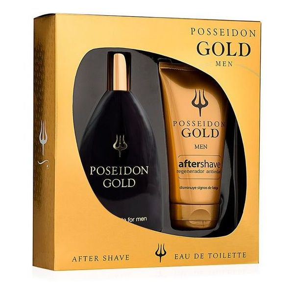 Set de Cosmétiques Homme Gold Posseidon (2 pcs)