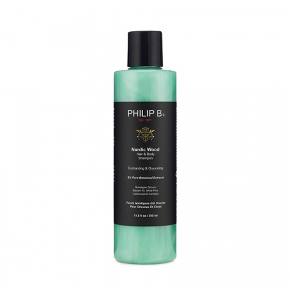 2-in-1 Gel et shampooing Nordic Wood Philip B (350 ml)