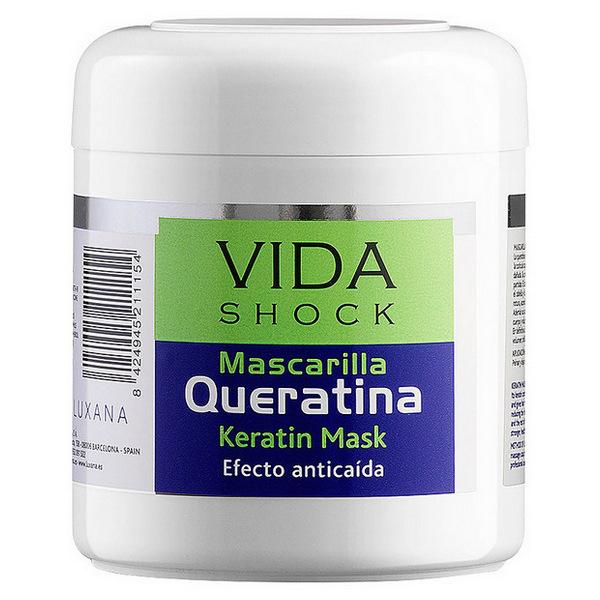 Masque à la kératine Vida Shock Luxana (500 ml)