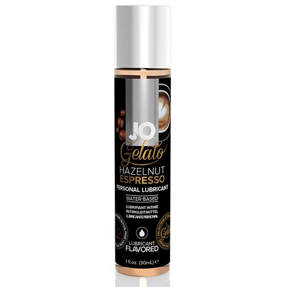 Lubrifiant Gelato Noisette Espresso  à base d\'eau 30 ml System Jo SJ41021