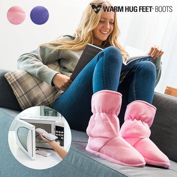 Bottes Réchauffables Micro-ondes Warm Hug Feet