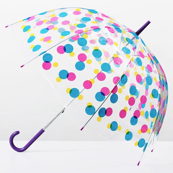 Parapluie cloche multicolore
