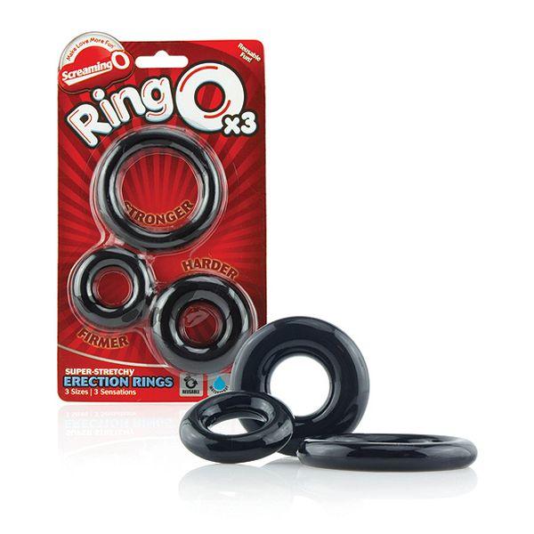 RingO 3 (Set) The Screaming O SC-RNGO-3P