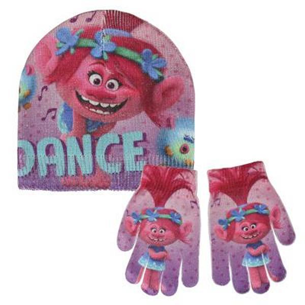 Bonnet et gants Trolls 249