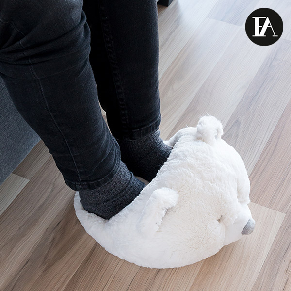Chauffe-Pieds Ours Polaire Fashinalizer