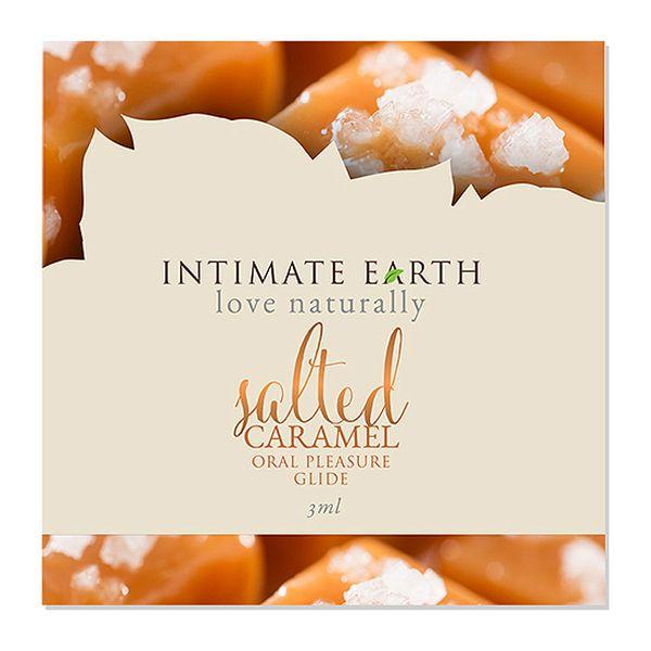 Oral Pleasure Glide Caramel  Salé 3 ml Intimate Earth 6547