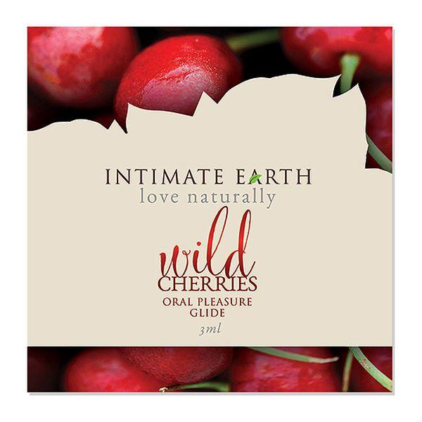 Oral Pleasure Glide Feuille de Cerisier Sauvage 3 ml Intimate Earth 6554