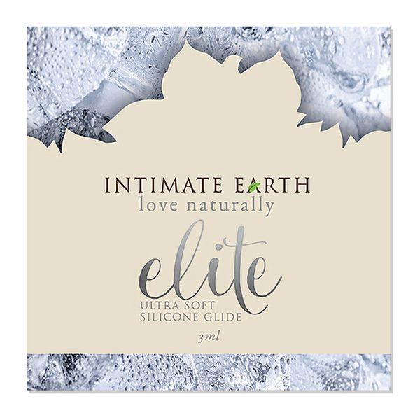 Elite Silicone Glide Feuille d\'élite 3 ml Intimate Earth 6578