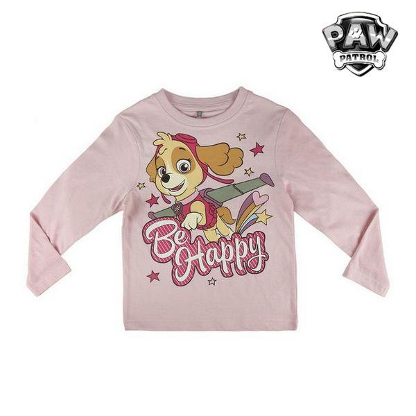T-shirt à manches longues enfant The Paw Patrol 72360 Rose