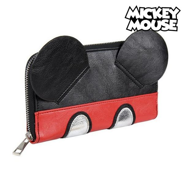 Portefeuille Mickey Mouse 75681 Noir/rouge