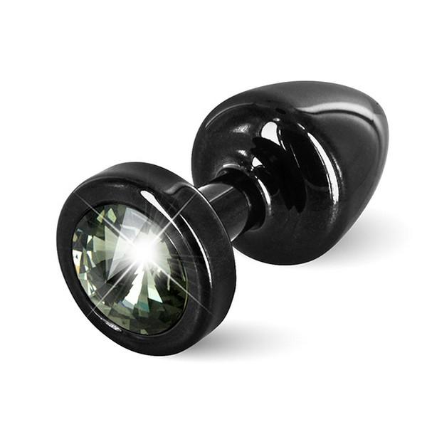 Anni Butt Plug rond noir 25 mm Diogol 72561