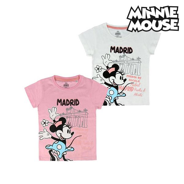 T shirt à manches courtes Enfant Madrid Minnie Mouse