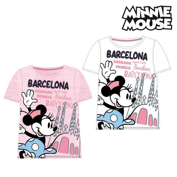 T shirt à manches courtes Enfant Barcelona Minnie Mouse