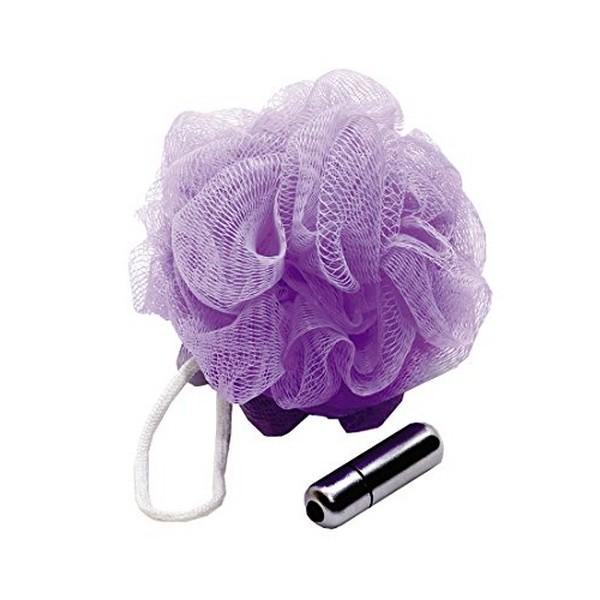 Eponge en maille vibrante Sex In The Shower ESS960-06 Violet