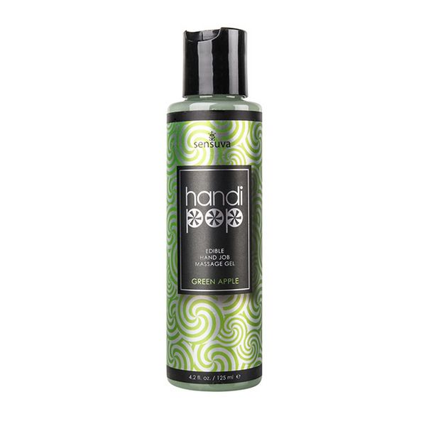 Gel de Massage masturbant Handipop Pomme Verte 125 ml Sensuva VL488