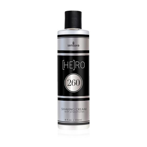 Crème de rasage Phéromone HE(RO) 260 Mâle 236 ml Sensuva 7662
