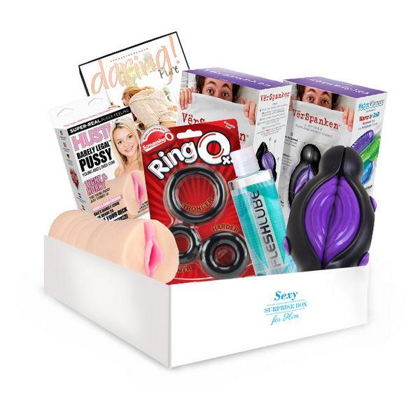 Boîte de sexe surprise - Pour lui SURPRISE! Gift Boxes 1704