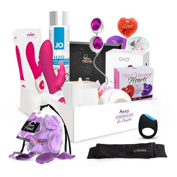 Boîte de sexe surprise - Pour Couples SURPRISE! Gift Boxes E25581