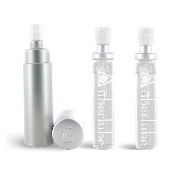 Lubrifiant silicone Good to go Argent & Recharge (3 pcs) Uberlube 3091