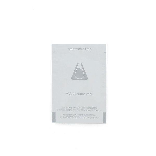 Lubrifiant silicone emballage en Aluminium 2,5 ml Uberlube 3084