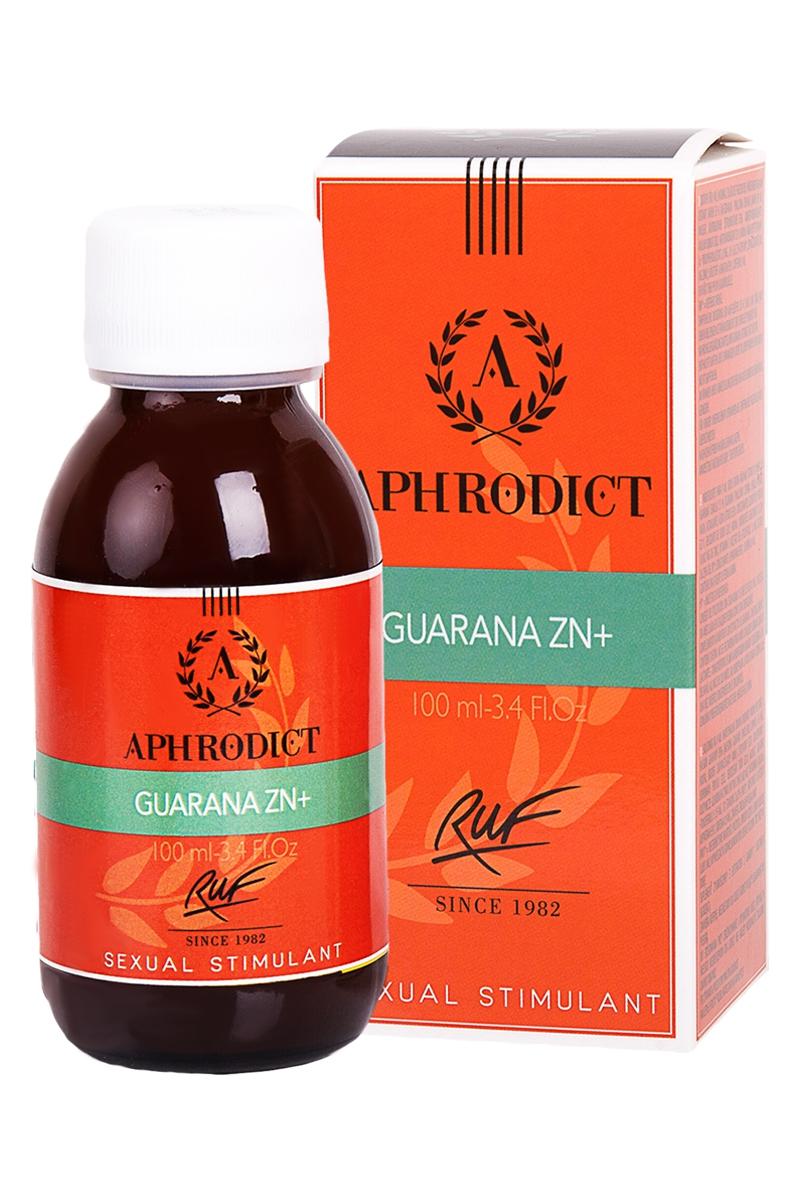 Stimulant sexuel Aphrodict Guarana ZN+