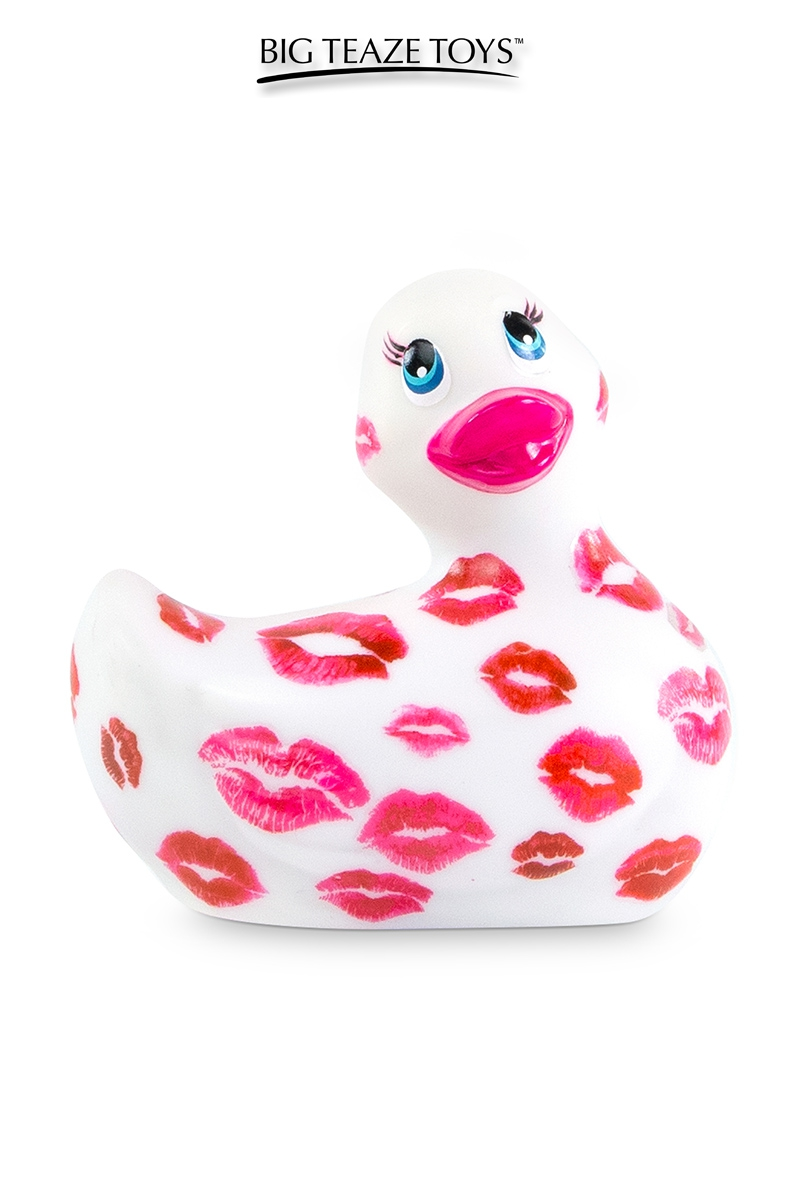 Mini canard vibrant Romance blanc et rose