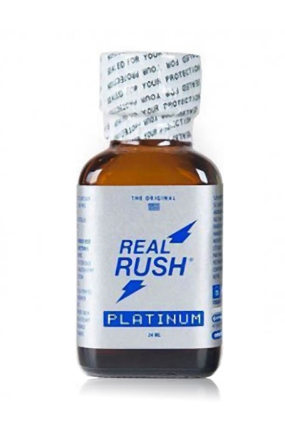 Poppers real rush platinum 24ml