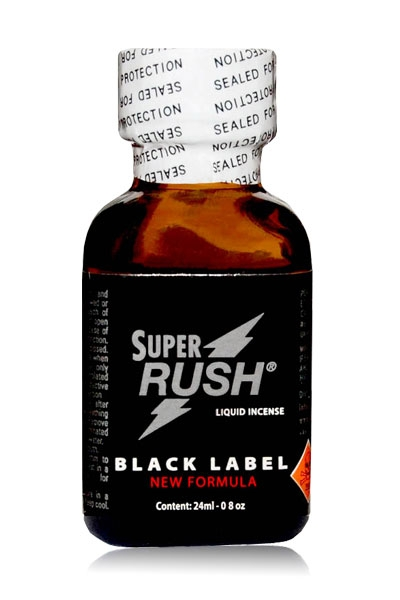 Poppers Super Rush Black Label 24 ml