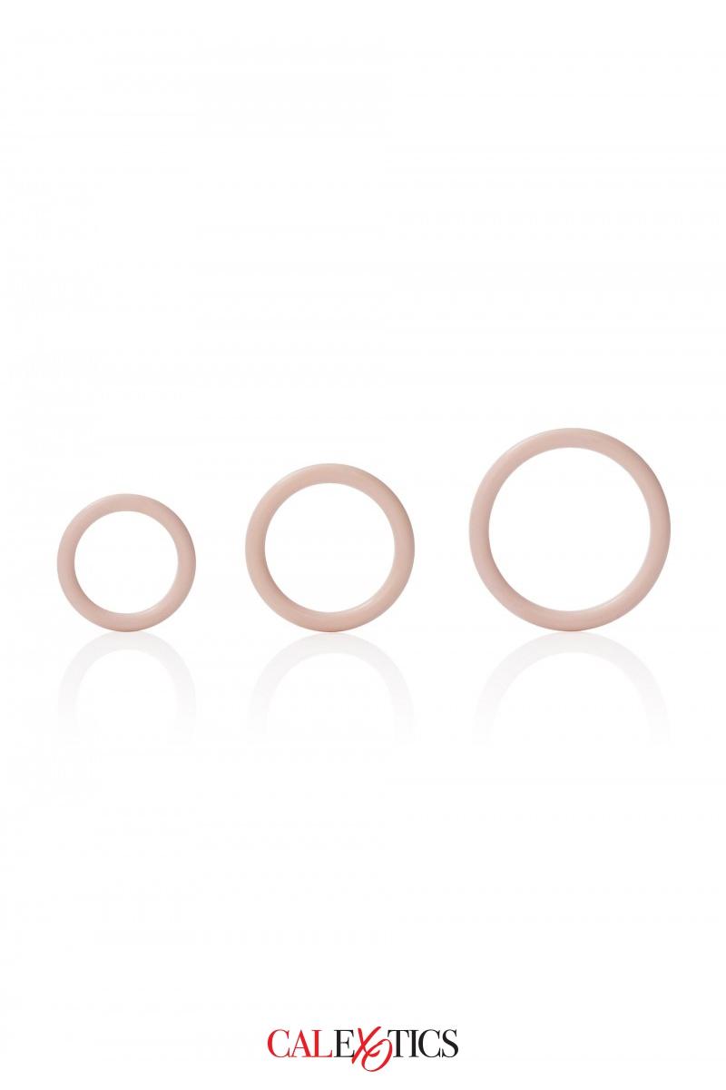 Pack 3 anneaux Silicone - Calexotics