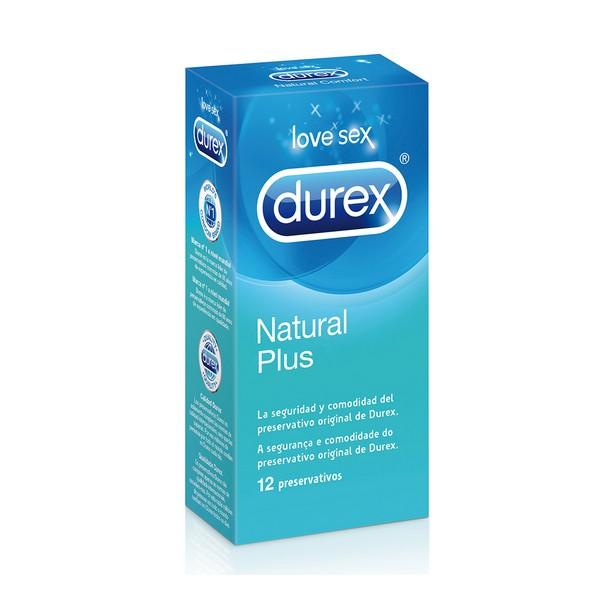 Préservatifs Naturel Plus Durex (12 Un.)
