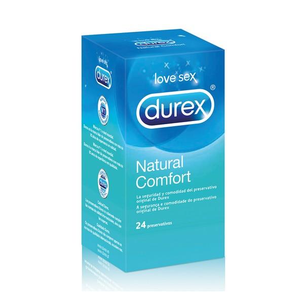 Préservatifs Naturel Plus Durex (24 Un.)