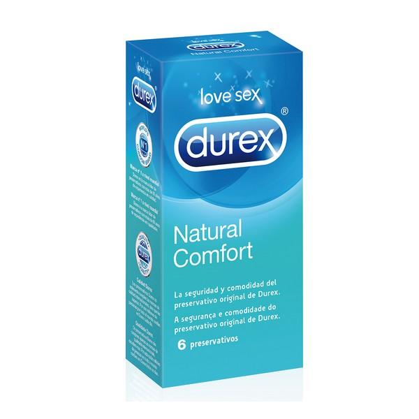 Préservatifs Naturel Plus Durex (6 Un.)