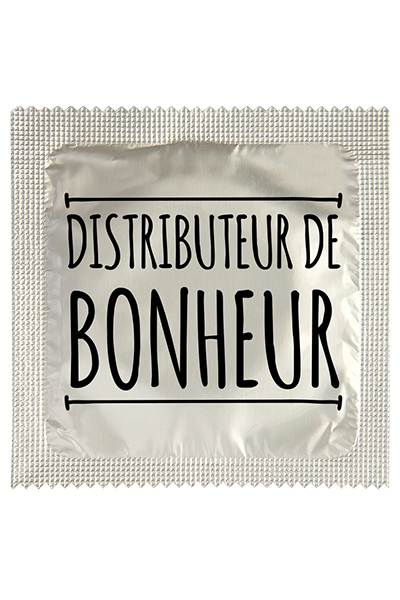 Préservatif humour - Distributeur De Bonheur