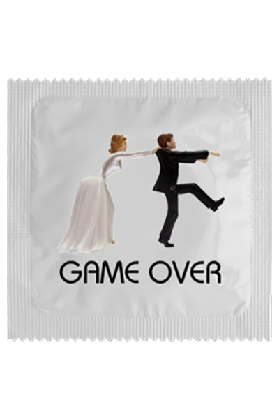 Préservatif humour - Game Over