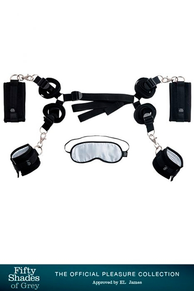 Kit d\'attaches pour  lit - Fifty Shades Of Grey