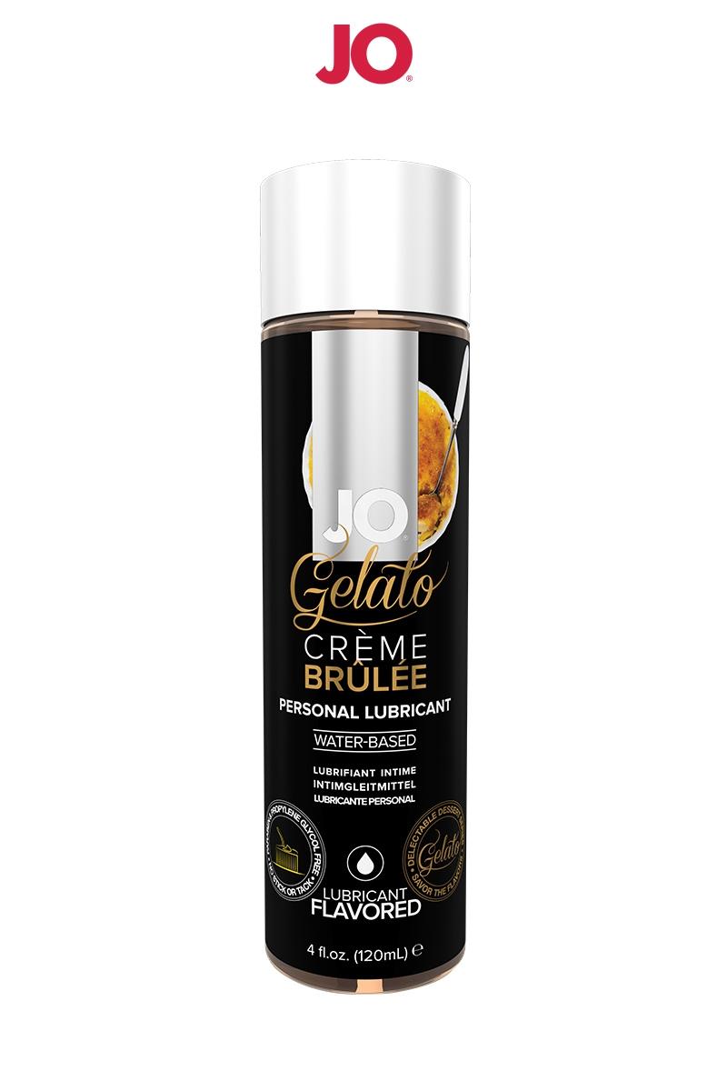 Lubrifiant aromatisé Crème brulée - 120ml